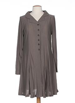 cannisse robes femme de couleur marron