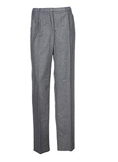 pauporté pantalons femme de couleur gris