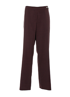 my way pantalons femme de couleur violet