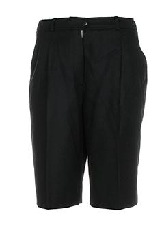 caroline rohmer shorts / bermudas femme de couleur noir