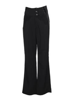 filipine lahoya pantalons femme de couleur noir