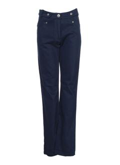 filipine lahoya pantalons femme de couleur bleu