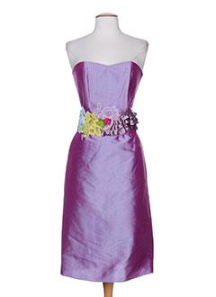 elsa gary robes femme de couleur violet
