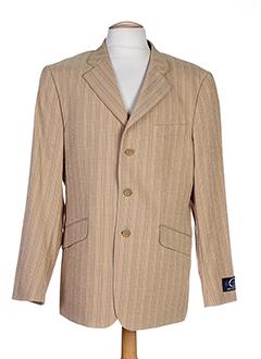 enzo carlito vestes homme de couleur beige