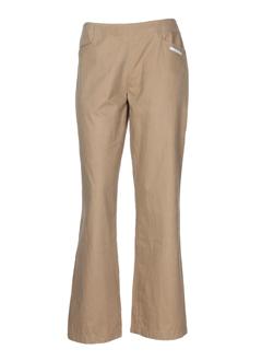 rusty pantalons et decontractes femme de couleur beige