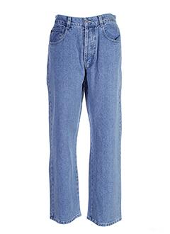 rusty jeans homme de couleur bleu