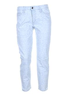 joe s pantalons femme de couleur bleu