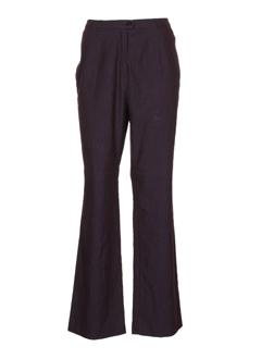 sym pantalons femme de couleur violet