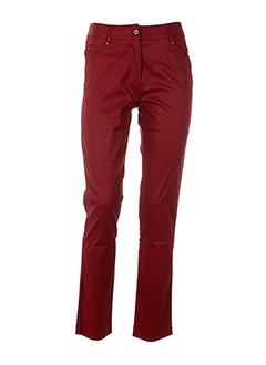 femmes je vous aime pantalons femme de couleur rouge
