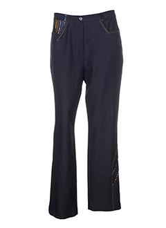 lysa et kara pantalons et decontractes femme de couleur noir