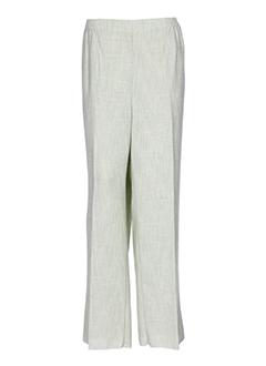 sodrap pantalons et decontractes femme de couleur vert