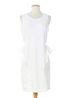 angeleye robes femme de couleur blanc