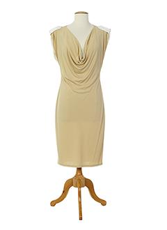 amz robes et mi et longues femme de couleur beige