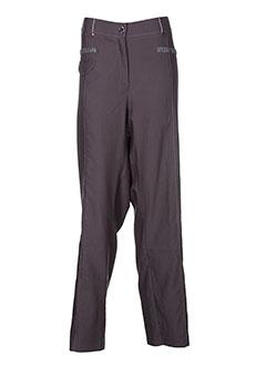 jean gabriel pantalons femme de couleur vert