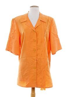 alain weiz chemises femme de couleur orange