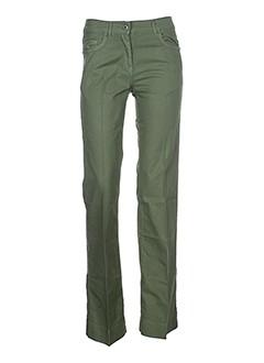 essentiel pantalons et decontractes femme de couleur vert