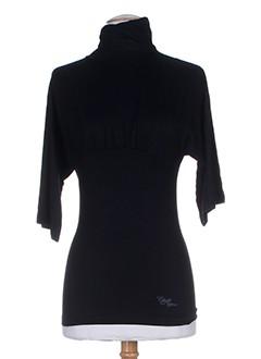 chilli pepper t-shirts femme de couleur noir