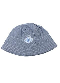 3 et pommes chapeaux et bonnets garcon de couleur bleu (photo)