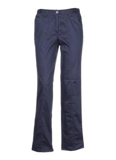 guy et cotten pantalons et decontractes femme de couleur bleu