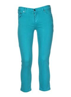 jon et kafe pantalons et decontractes femme de couleur bleu