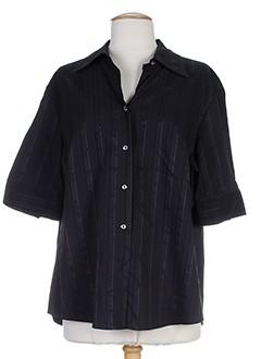 elena miro chemises femme de couleur noir