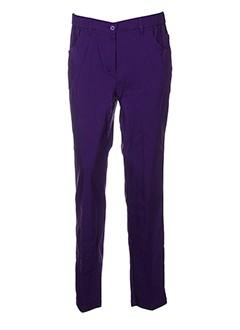 kjbrand pantalons et decontractes femme de couleur violet