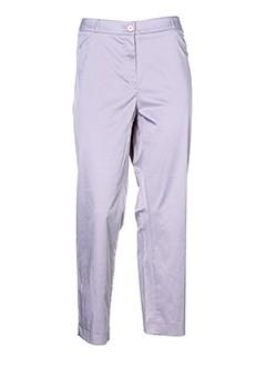 vera et mont pantalons et decontractes femme de couleur gris