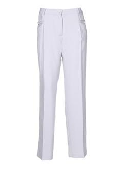 parisiennes pantalons et citadins femme de couleur gris