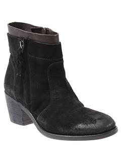 alberto et fermani boots femme de couleur noir