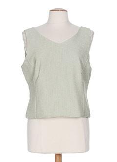 mitsouki chemises femme de couleur vert
