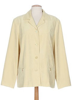 arielle vestes femme de couleur jaune