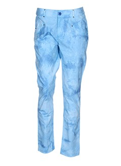 les fees du vent pantalons femme de couleur bleu