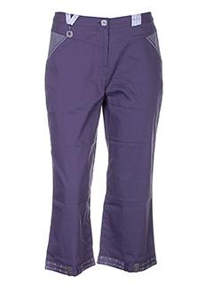 enjoy pantacourts et decontractes femme de couleur violet