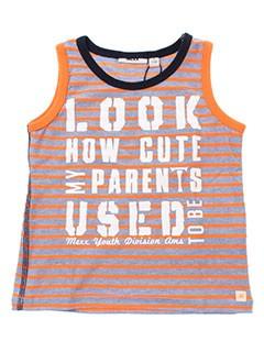 mexx t-shirts / tops garçon de couleur orange