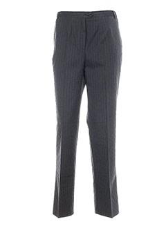 guy cotten pantalons femme de couleur gris