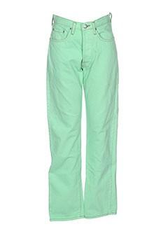 cimarron jeans femme de couleur vert