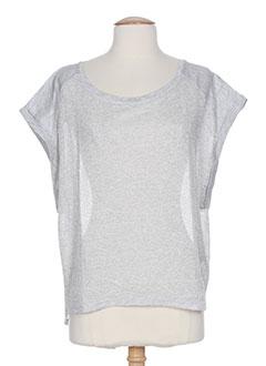 kocca t et shirts et tops femme de couleur gris