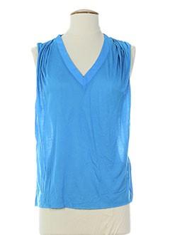 american vintage t et shirts et tops femme de couleur bleu