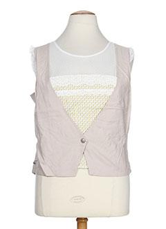 enjoy chemises femme de couleur beige