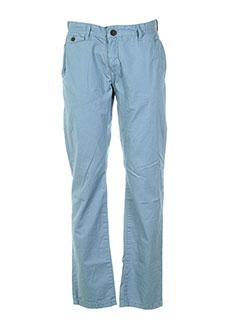 deeluxe pantalons et citadins homme de couleur bleu