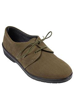 portania chaussures femme de couleur vert