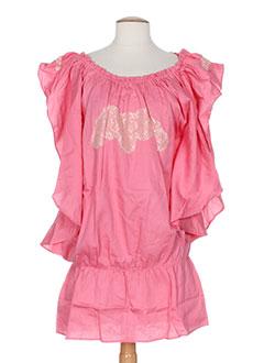 mine de rien robes femme de couleur rose
