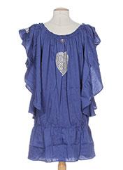 Robe mi-longue bleu MINE DE RIEN pour femme seconde vue