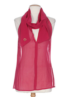 mine de rien chemises femme de couleur rose