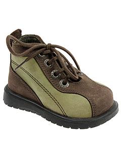 mod 8 chaussures garçon de couleur marron
