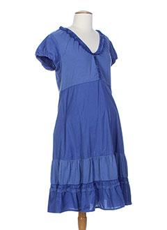 menonove robes femme de couleur bleu