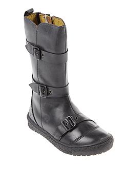 mod 8 chaussures fille de couleur noir