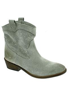 midreia boots femme de couleur gris