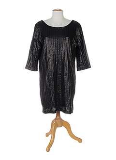 Robe mi-longue noir ELLA LUNA pour femme