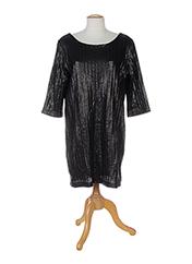 Robe mi-longue noir ELLA LUNA pour femme seconde vue
